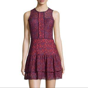 "Parker ""Nerissa"" lace dress in ""reef"""